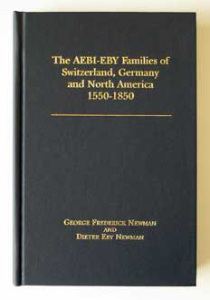 New Aebi-Eby Families Book